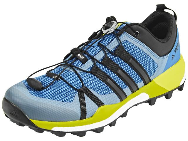 adidas TERREX Skychaser Shoes Men core blue/core black/unity lime